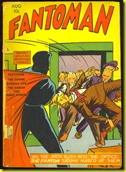 cartoon superhero comic book Fantoman issue 2