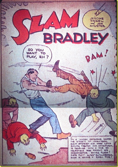 detective comics 1.slam bradley