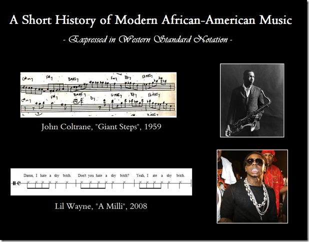 A Short History of Modern African-American Music