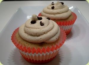 choc chip cupcake