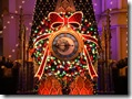 Christmas at Disney  Disney Clock 1024x768  desktop widescreen wallpaper