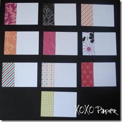 XOXO - Notecards CG