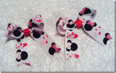 Cece's - Minnie Valentine Bows Jan 20