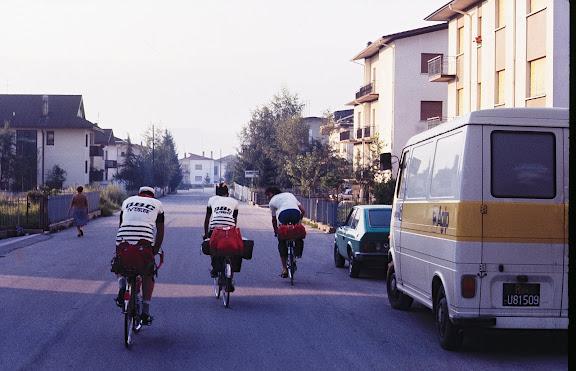 La mattina della partenza da Belluno
