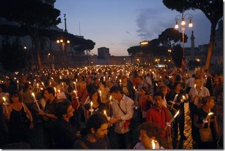 rome gay rally