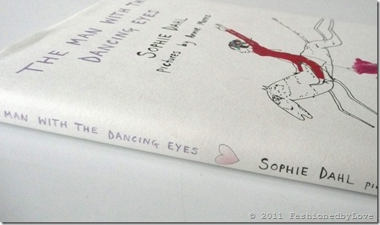 Sophie Dahl / A man with dancing eyes book / via fashioned by love british fashion blog