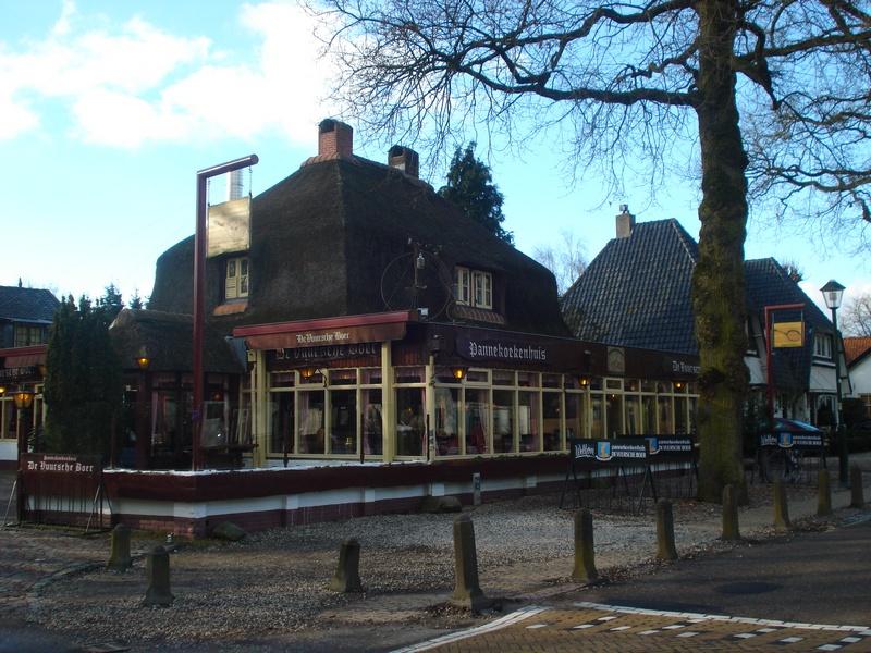 La Casa del Pancake a De Vuursche Boer della famiglia del famoso ciclista Gerry Knetemann