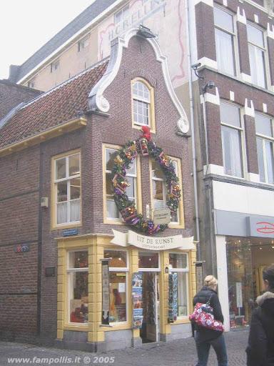 Utrecht, un negozietto per i souvenir