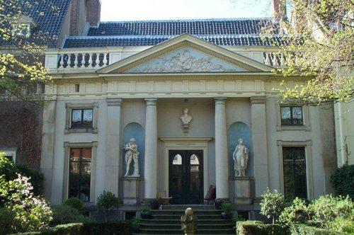 Amsterdam, la facciata del Museo Van Loon