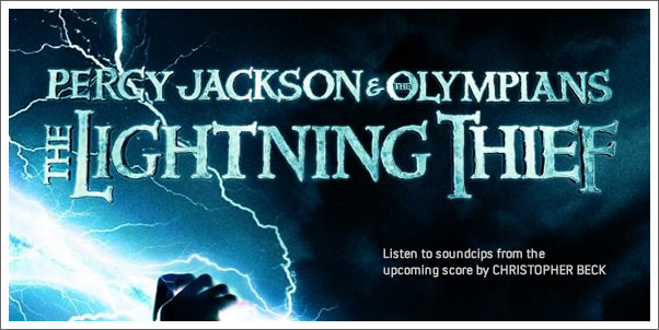 Surprising Soundclips from Percy Jackson and the Olympians:  The Lightning Thief Soundtrack by Christophe Beck
