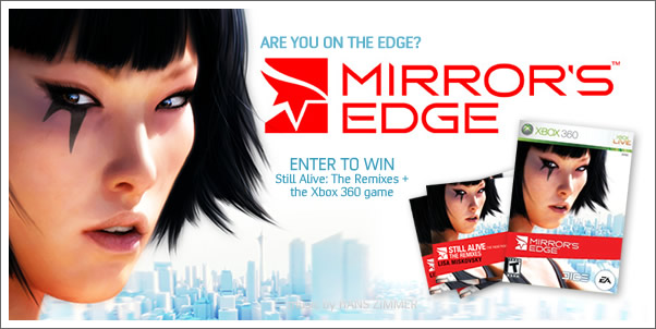 Enter to Win: Mirror's Edge - Still Alive: The Remixes + The Xbox 360 Game
