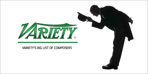 Variety's Big List of Composers