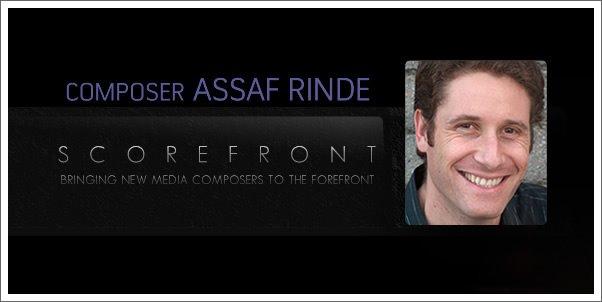 Scorefront Profile:  Composer Assaf Rinde