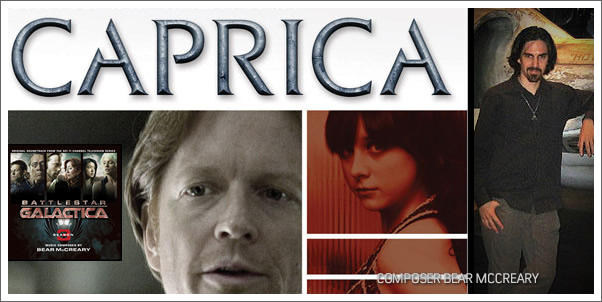 Bear McCreary Concerts and Caprica Soundtrack Release