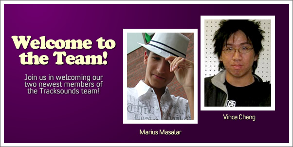 Introducing Marius Masalar and Vince Chang