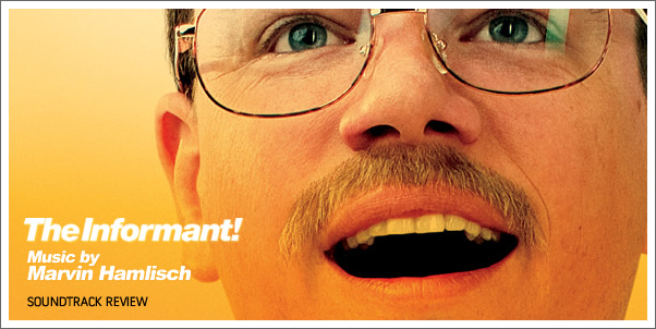 The Informant (Soundtrack) by Marvin Hamlisch - Reviewed