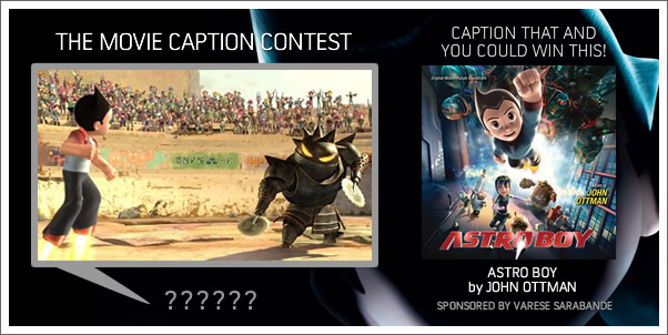 Win Astro Boy (Soundtrack) by John Ottman!
