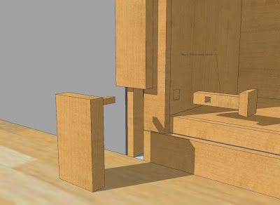 Captivating Hidden Door Bookshelf Step 2