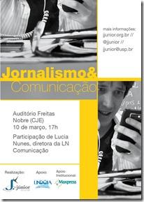 E-flyer Jornalismo & Comunicação