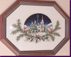Weihnachtsliche Kirche