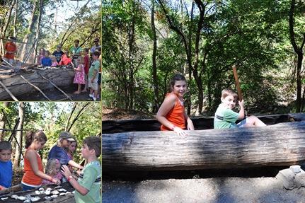 View Powhatan Canoe