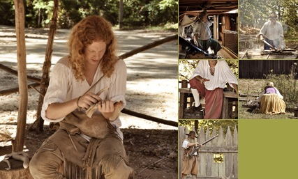View Jamestown re-enactors