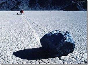 會移動的石頭