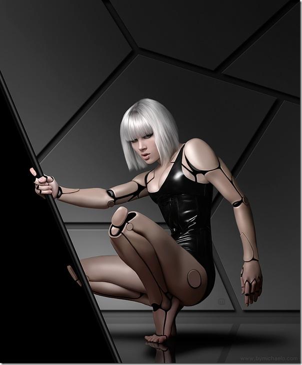 性感美女機器人-4