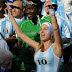 Argentina World Cup Babes: Argentina World Cup Girl