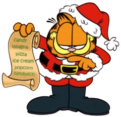 Xmas-Garfield-Santa-list