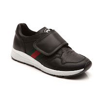 Gucci Branded Black Velcro Trainer TRAINER
