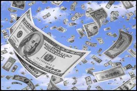 El dinero vuela