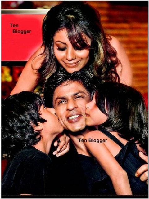 shahrukh and mini family