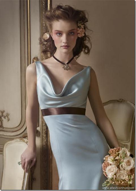 Rosie Huntington-Whiteley Alvina Valenta Bridal Collection (25)