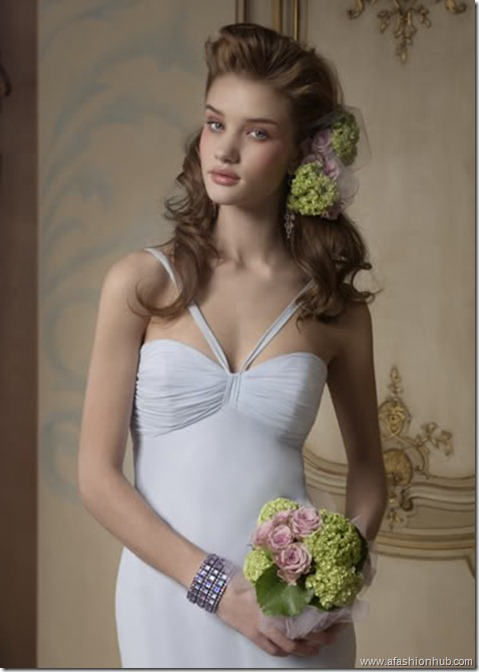 Rosie Huntington-Whiteley Alvina Valenta Bridal Collection (11)