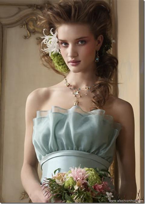 Rosie Huntington-Whiteley Alvina Valenta Bridal Collection (26)