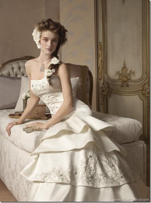 Rosie Huntington-Whiteley Alvina Valenta Bridal Collection (19)