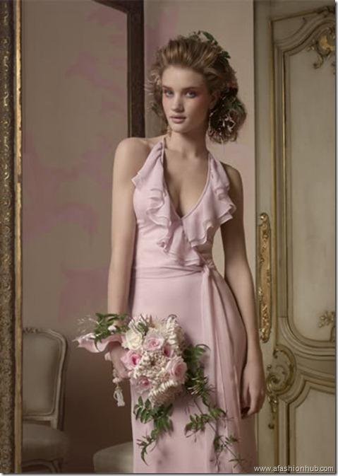 Rosie Huntington-Whiteley Alvina Valenta Bridal Collection (20)