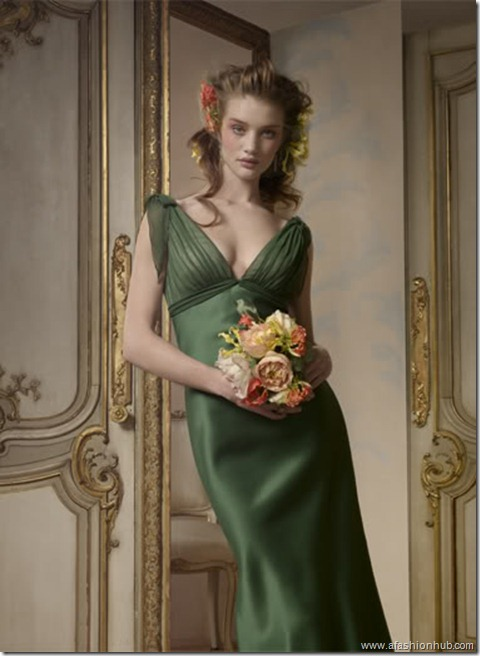 Rosie Huntington-Whiteley Alvina Valenta Bridal Collection (21)