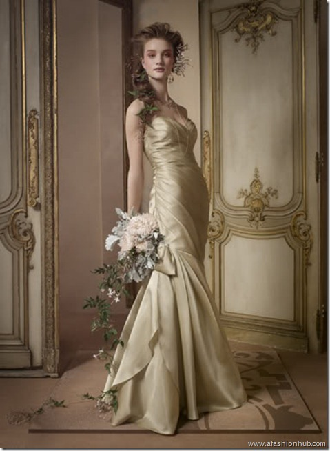 Rosie Huntington-Whiteley Alvina Valenta Bridal Collection (30)