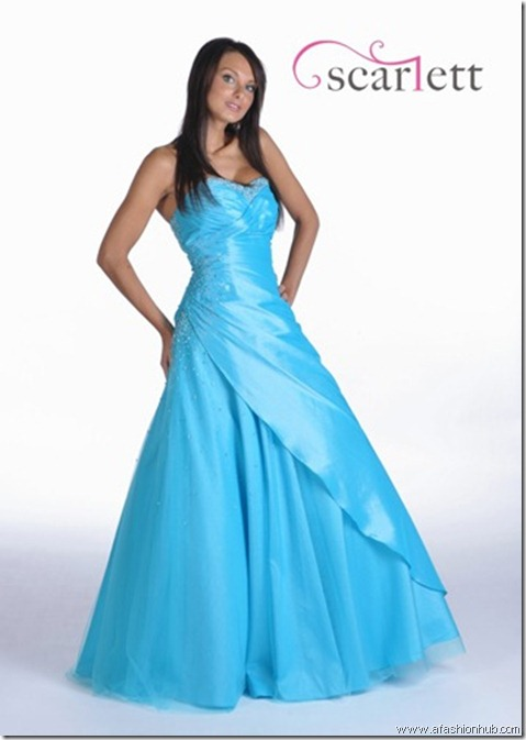 Della, also in Flamingo Pink and in Purple-Prom dress and ballgown