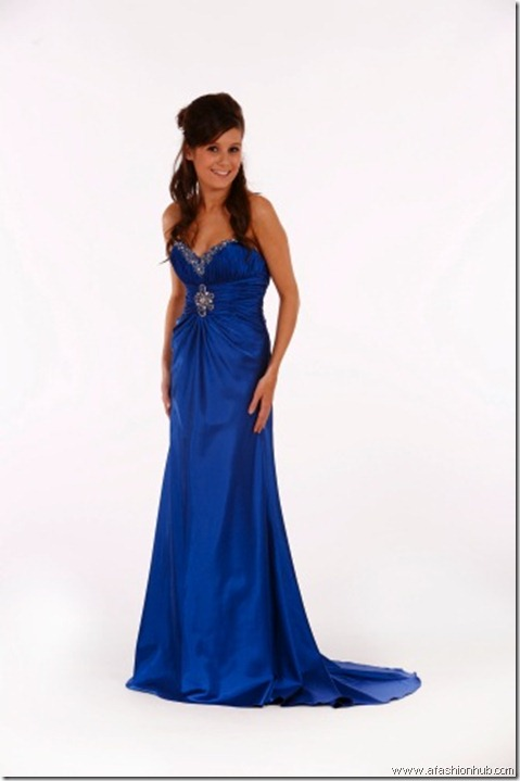 Sapphire-Prom dress and ballgown