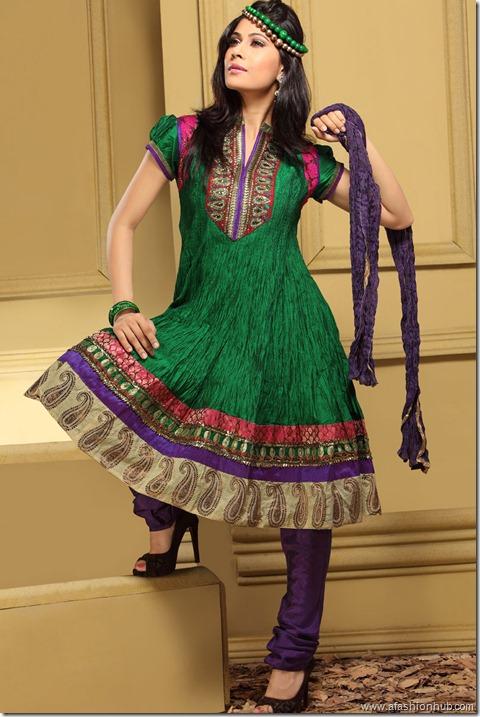 Anarkali Salwar Kameez (6)
