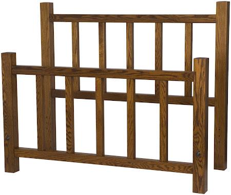 Ashton Bed Frame, Autumn Oak