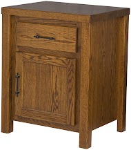 Ashton Nightstand with Doors