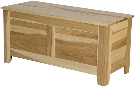 "36"" wide x 18"" high x 16"" deep Shaker Chest in Natural Hickory"
