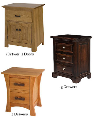 nightstand configurations