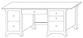 custom desk design