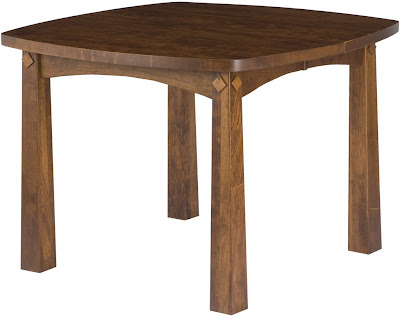 42 x 42 Shaker Dining Table, Antique Cherry