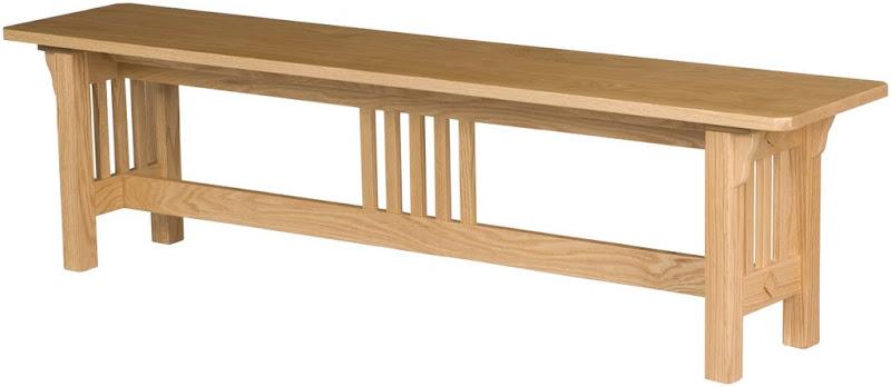 corbel mission bench
